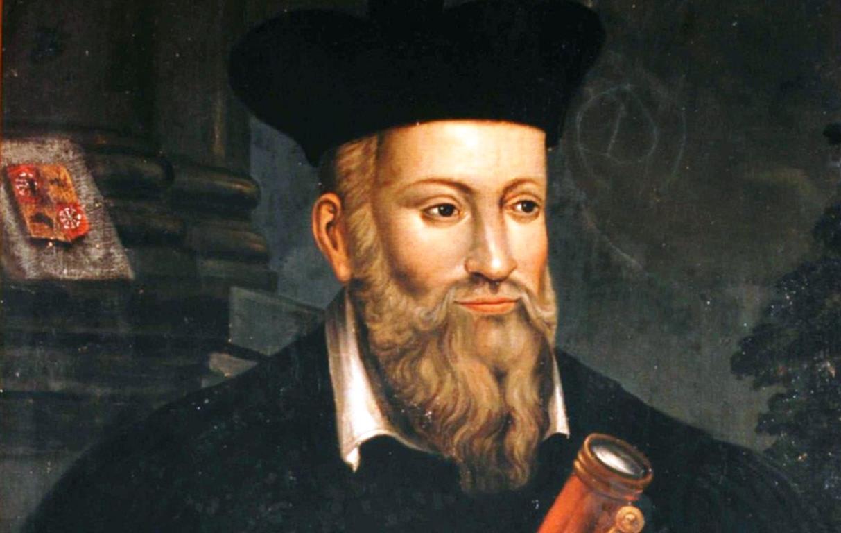 1503-1566 Jude Michael Nostradamus. Apotheker, Arzt, Astrologe, Okkultist und Prophet