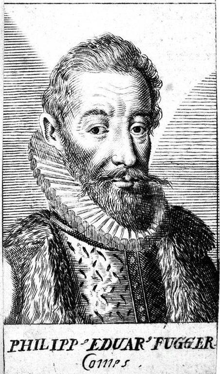 1546-1618 Jesuit Pilipp Eduard Fugger. Augsburger Bankier und Kaufmann