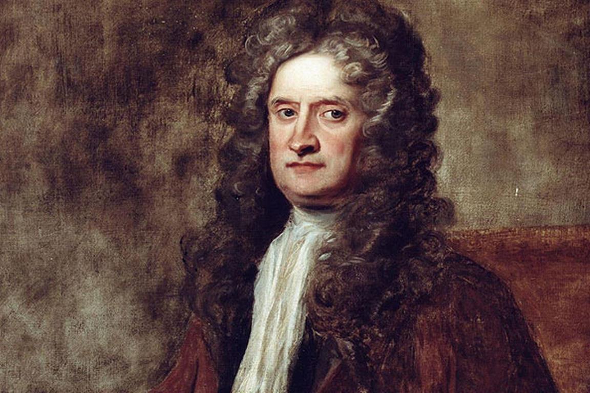 1643-1727 Rosenkreuzer Isaac Newton. Englischer Naturforscher. Erfand die Gravitationstheorie, die wahrscheinlich nicht stimmt