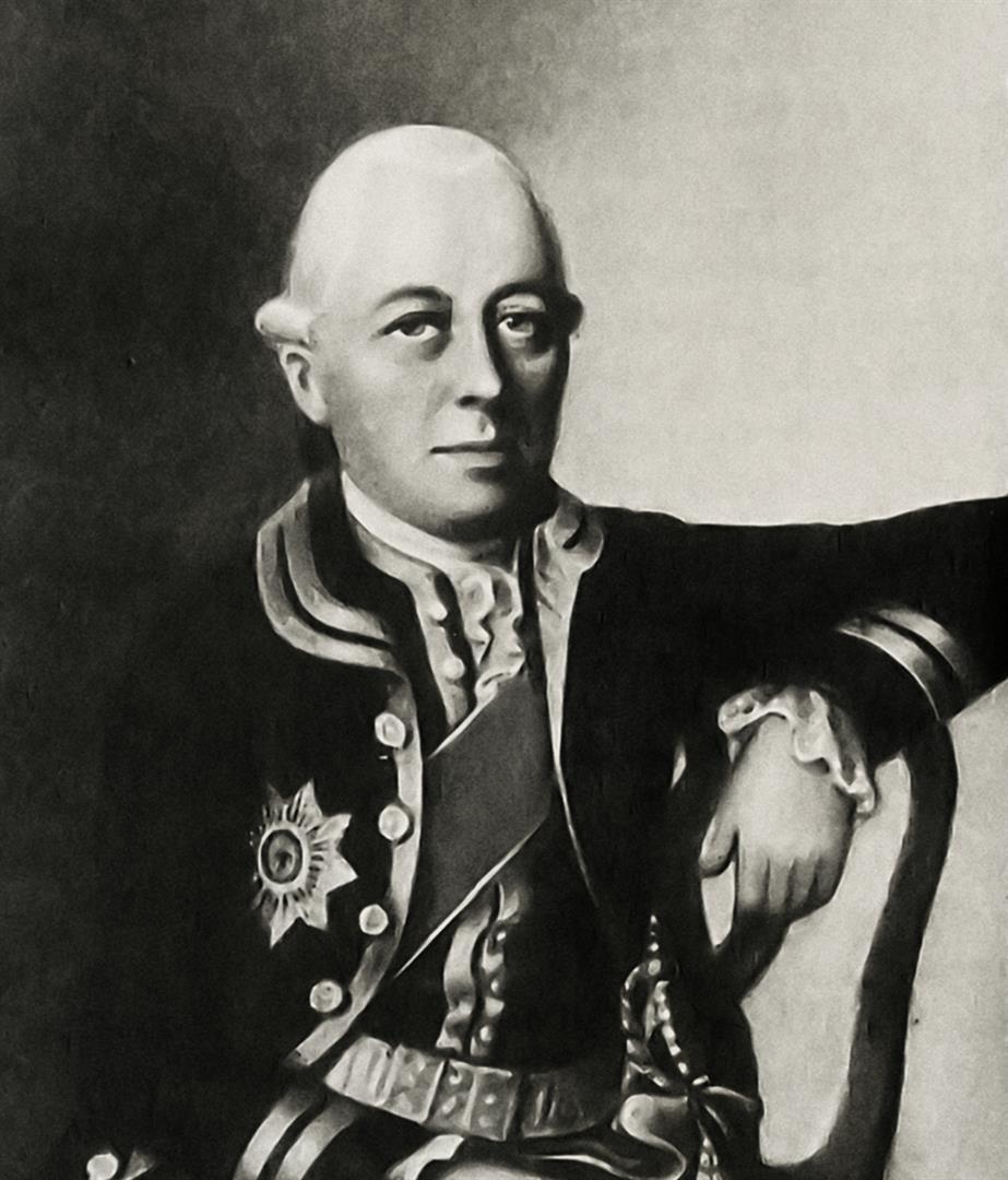 1722-1776 Freimaurer Karl Gotthelf von Hund und Altengrotkau. Traf in Paris den 'unbekannten Oberen' und entwickelte das System 'Strikte Observanz' (Wiedererweckung des Templerordens in Deutschland, VII. Provinz)