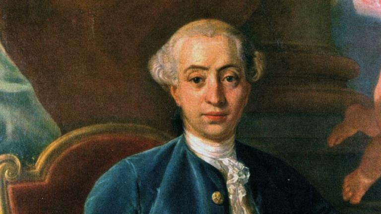 1725-1798 Freimaurer Giacomo Casanova. Er war 1750 in Lyon den Freimaurern beigetreten