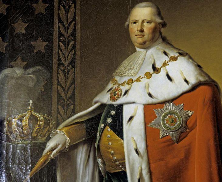1754-1816 Freimaurer Friedrich Wilhelm Karl von Württemberg. Freimaurarloge Stuttgart 1778 'Strikte Observanz'