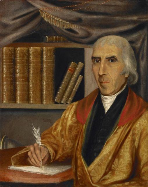 1761-1826 Verschwörungstheoretiker Jedidiah Morse