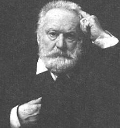 1802-1885 Freimaurer Victor Hugo. Französischer Schriftsteller. Der Glöckner von Notre-Dame, Les Misérables