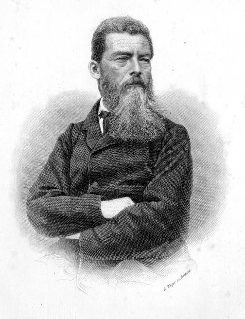 1804-1872 Freimaurer Ludwig Feuerbach. Philosoph und Religionskritiker