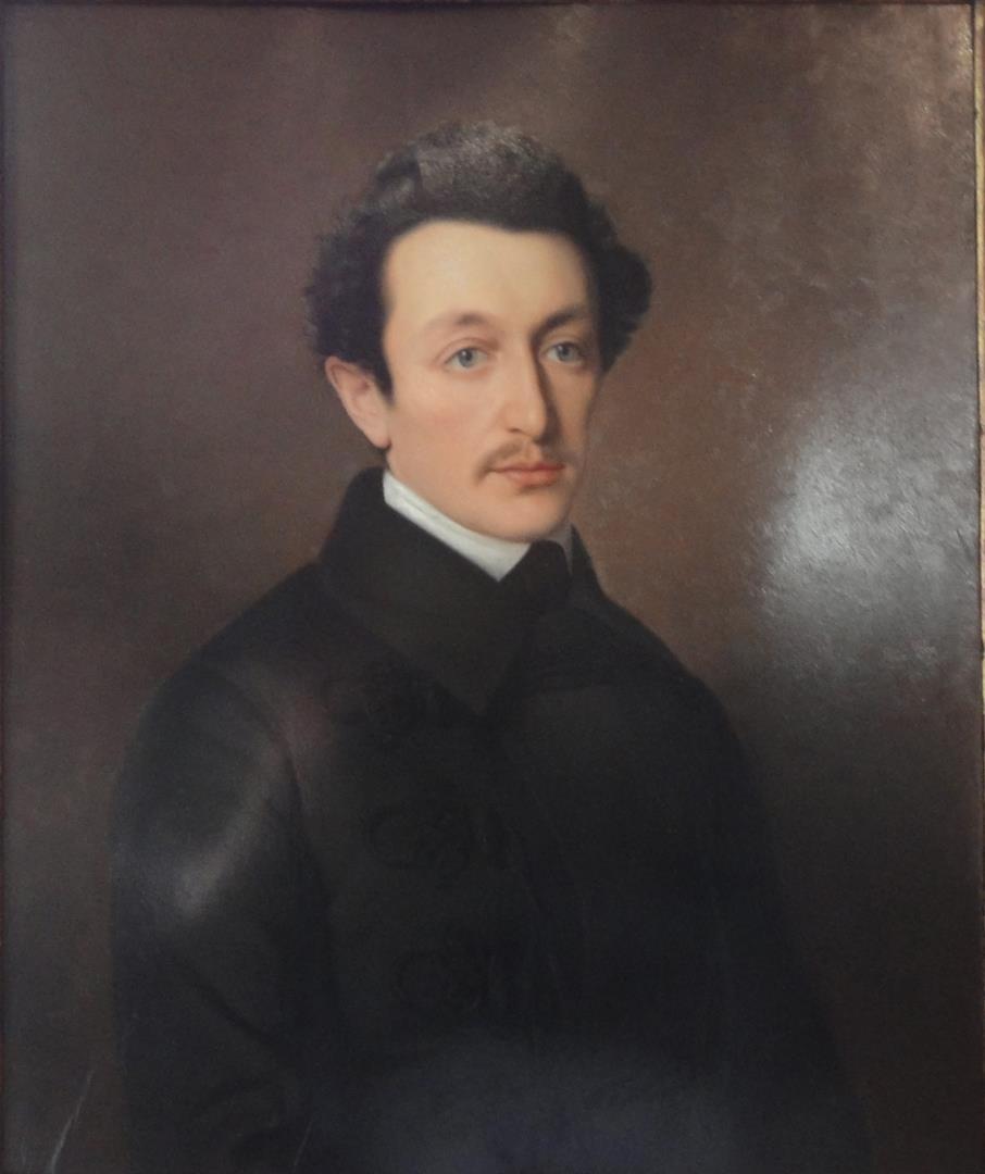 1812-1875 Freimaurer und Jude Moses Hess. Philosoph und Vordenker der Zionistenbewegung. Pariser Freimaurerloge 'Henri IV des Grand Orient de France'