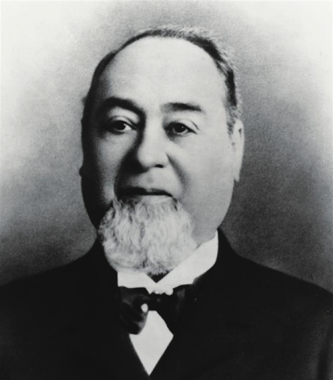 1829 Jude Löb Strauss (Levi Strauss). Deutsch-amerikanischer Industrieller. Jeans-Verkäufer
