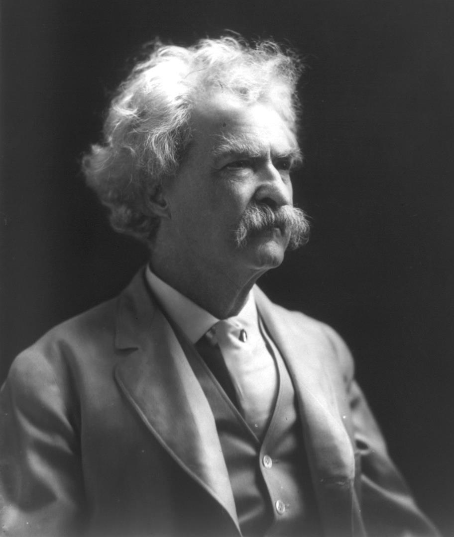 1835-1910 Freimaurer Samuel Langhorne Clemens (Mark Twain). Schriftsteller. Freimaurerloge 1860 in St. Louis 'Polar Star Lodge No. 79'