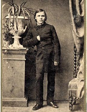1844-1900 Freimaurer Friedrich Nietzsche. Deutscher Philosoph