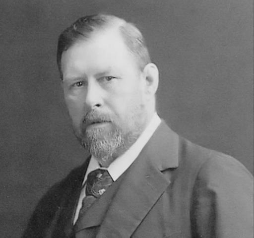 1847-1912 Rosenkreuzer Bram Stoker. Irischer Schriftsteller (Dracula)
