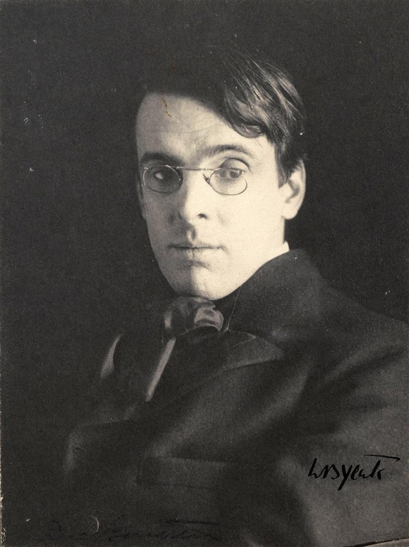 1865-1939 Rosenkreuzer William Butler Yeats. Irischer Dichter