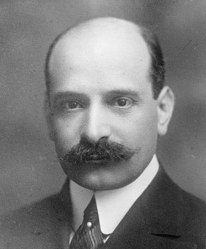 1867-1946 Jude Paul Warburg. Einflußreicher Bankier. Wuchs in Hamburg auf