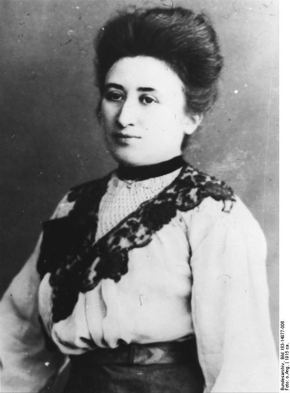 1871-1919 Jüdin Rosa Luxemburg. Kommunistin