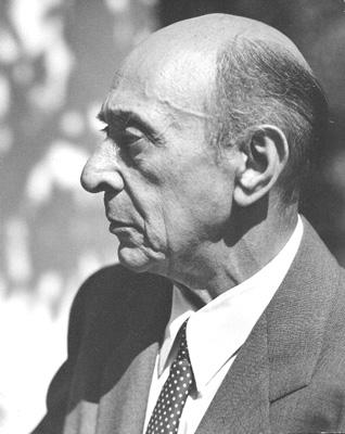 1874-1951 Jude Arnold Schoenberg. Komponist. Entwickelte die Zwölftontechnik