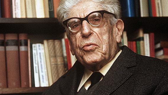 1885-1977 Jude Ernst Bloch. Deutscher Philosoph und Kommunist