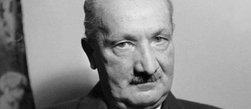 1889-1976 Jesuit Martin Heidegger. Philosoph. Besuchte das Konstanzer Jesuitenkolleg 'Collegium Josephinum'