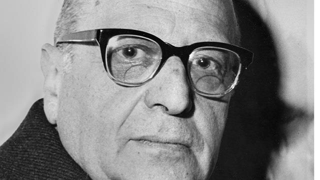 1895-1973 Jude Max Horkheimer. Philosoph der Frankfurter Schule und Kommunist