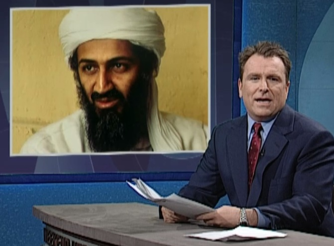 2000 - Saturday Night Live Sendung (3). Osama bin Laden