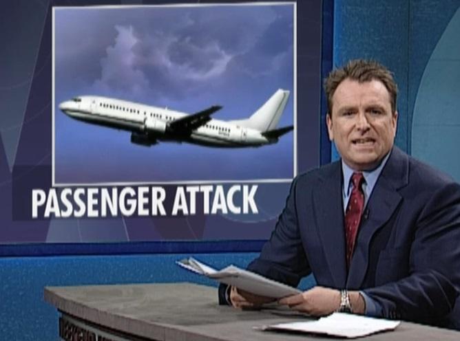 2000 - Saturday Night Live Sendung (5). Flugzeugentführung