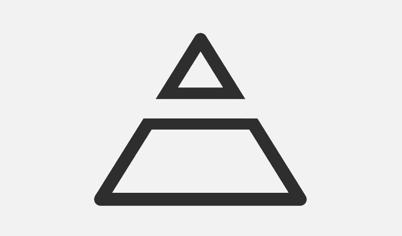 Alles-Absicht-Logo nur Pyramide (breiter Rand)