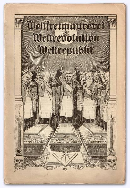 Friedrich Wichtl - Weltfreimaurerei, Weltrevolution, Weltrepublik (1921)