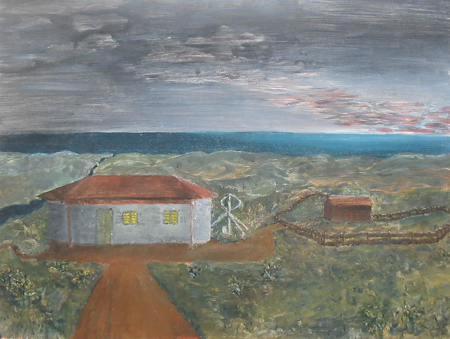 Malbild Steffen - Traumhaus