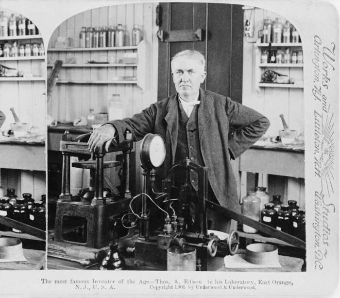 Thomas Edison führte das Hello (Hölle) ein