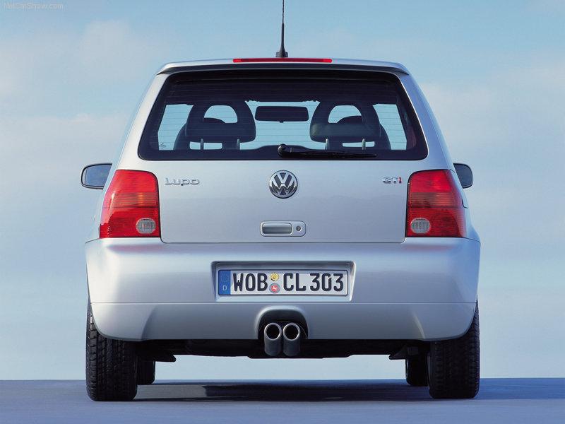 VW Lupo von 'lupus' (lat., Wolf)