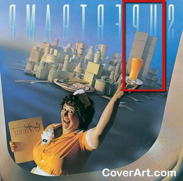 1979 - Spiegelt man das Cover stehen die Türme plötzlich vor der Zahl 911. Das Bild ist aus dem Blickwinkel eines Passagierflugzeug-Fensters gemalt. Man beachte das wissende Lachen. Eine Liedzeile heißt 'Take a Jumbo across the water. Like to see Amerika'