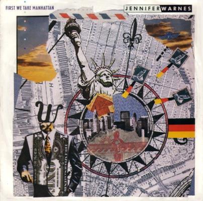 1987 - Mit den vielen neuen Einwanderern, nach dem Motto 'Terrorists welcome', könnte das Lied über Terroranschläge 'First We Take Manhattan' (than Berlin) von Jennifer Warnes traurige Aktualität bekommen.