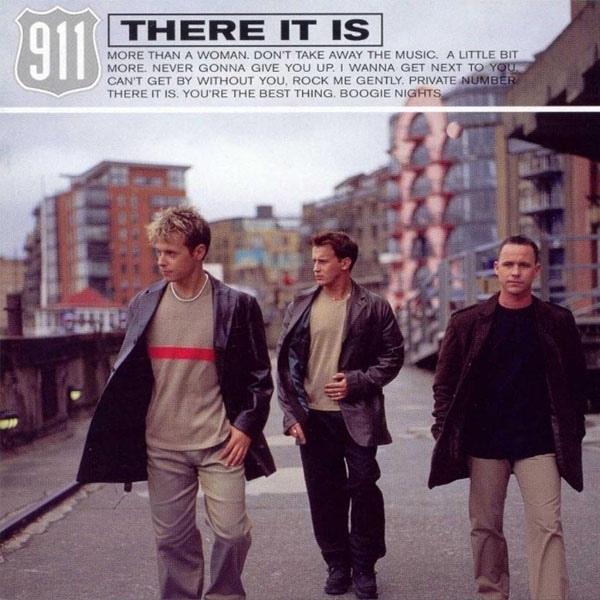 """1999 - Die zweitklassige Retorten-Boyband 911 veröffentlichete am 11. Januar 1999 ihren Nummer eins Hit in GB mit dem Titel """"There it is""""."""