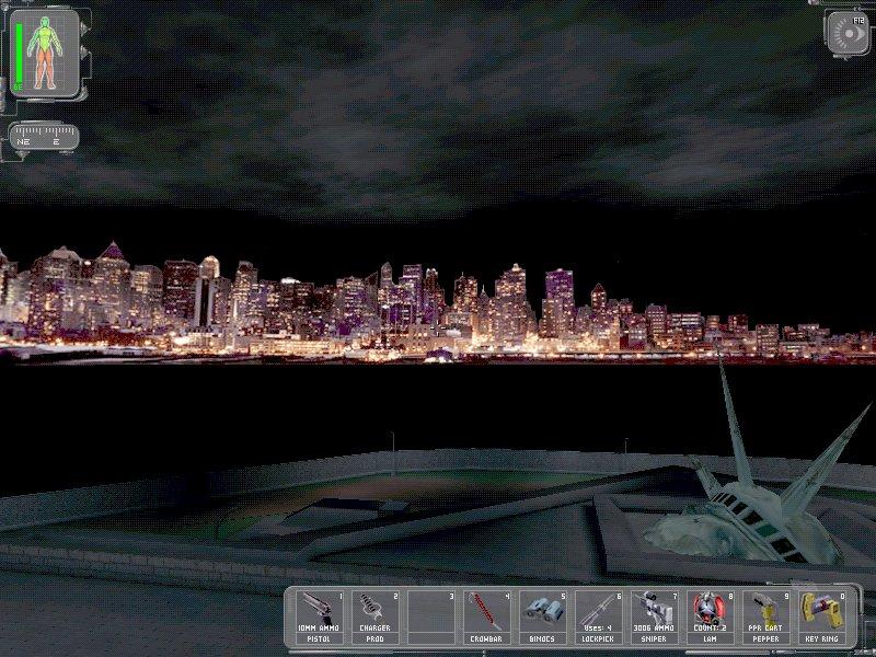 2000 - In dem Computerspiel Deus Ex sieht man die New Yorker Skyline ohne die Twin Towers. Die Erklärung bringt das Spiel gleich selber mit - sie wurden durch einen Terroranschlag vernichtet.