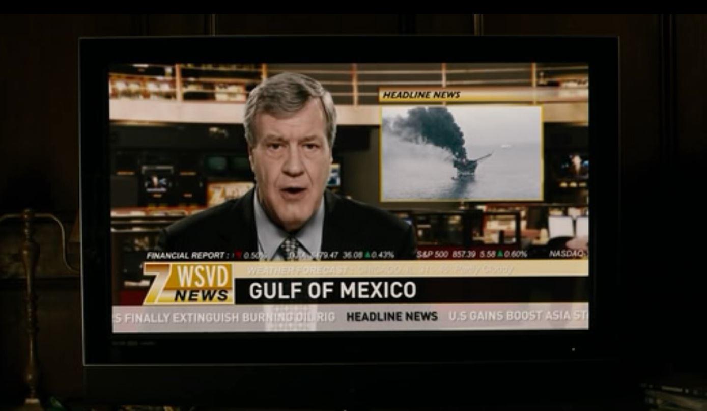 2009 - In dem Hollywoodfilm Knowing (Film über Prophezeiungen) wird über einen Brand einer Ölplattform berichtet. Wird hier der Deep-Water-Horizon-Unfall ein Jahr später prophezeit?