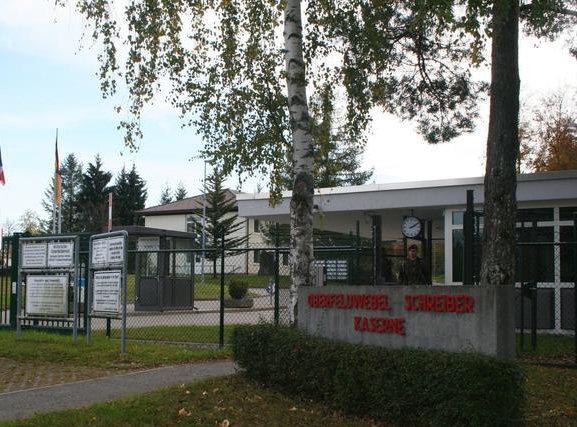 Flüchtlingsheim in der Oberfeldwebel-Schreiber-Kaserne