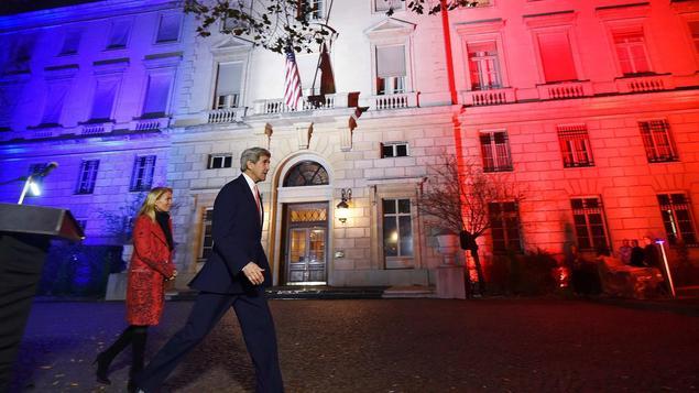 Frankreich, Paris, US-Botschaft