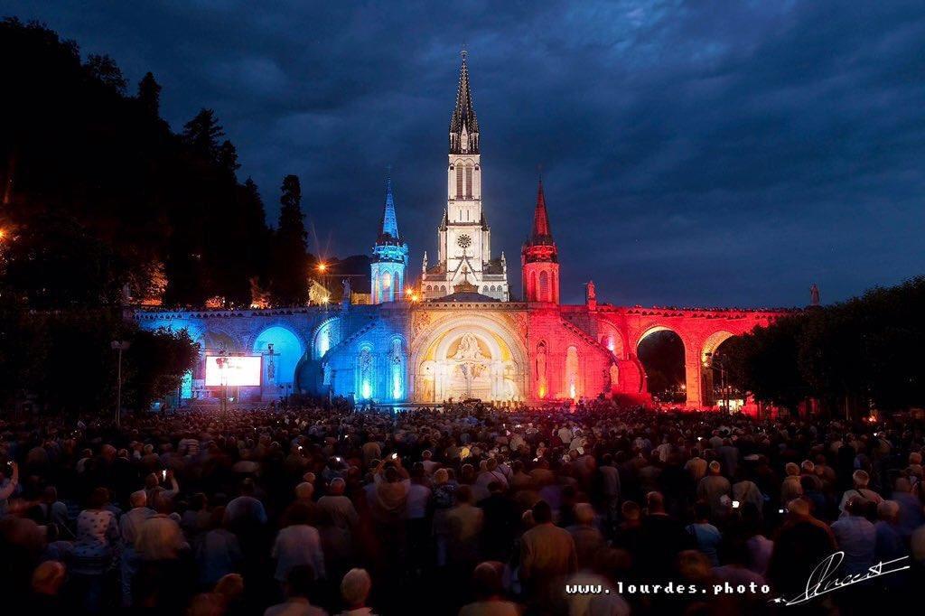 Frankreich, Lourdes, Rosenkranz-Basilika
