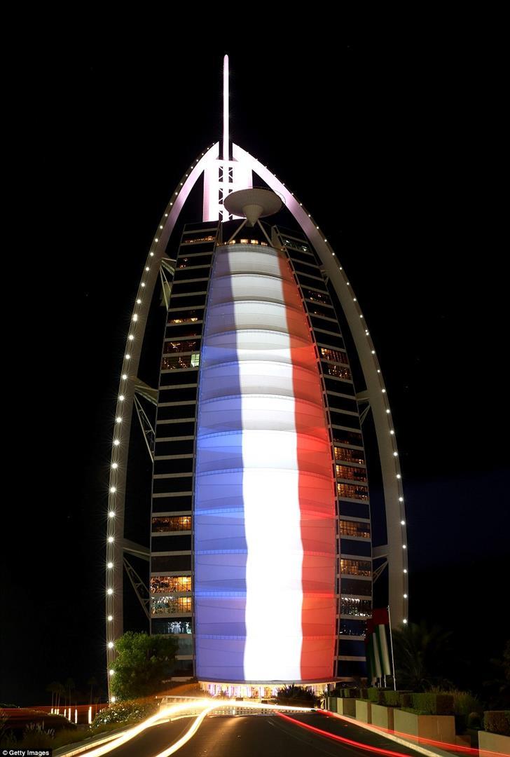 Vereinigte Arabische Emirate, Dubai, Burj al Arab