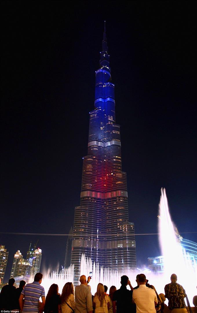 Vereinigte Arabische Emirate, Dubai, das höchste Gebäude der Welt - Burj Khalifa
