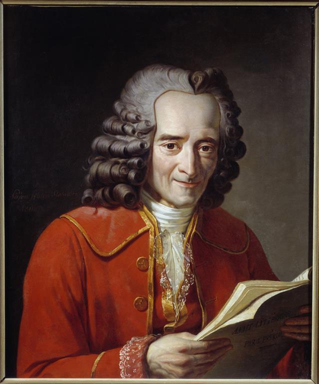 1694-1778 Freimaurer François-Marie Arouet (Voltaire). Französischer Philosoph. Freimauerloge 1778 in Paris Les Neuf Sœurs.