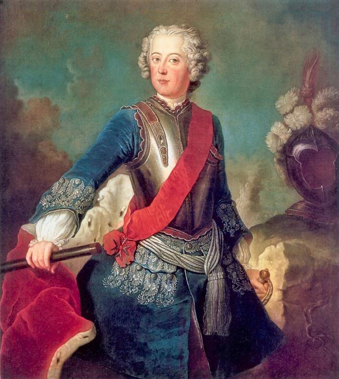 1712-1786 Freimaurer Friedrich der Große (Alte Fritz). König von Preußen. Enstammte dem Haus Hohenzollern. Aufgenommen 1738 in die Loge d'Hambourg. 1767 Mitglied der Strikten Observanz.