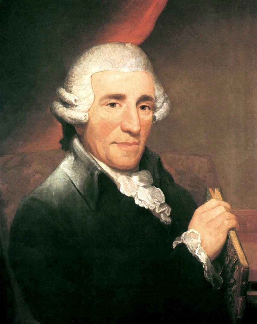 1732-1809 Freimaurer Joseph Haydn. Komponist. Freimaurerloge Wien 1785 'Zur wahren Eintracht'. Komponierte die Melodie der Deutschen Nationalhymne