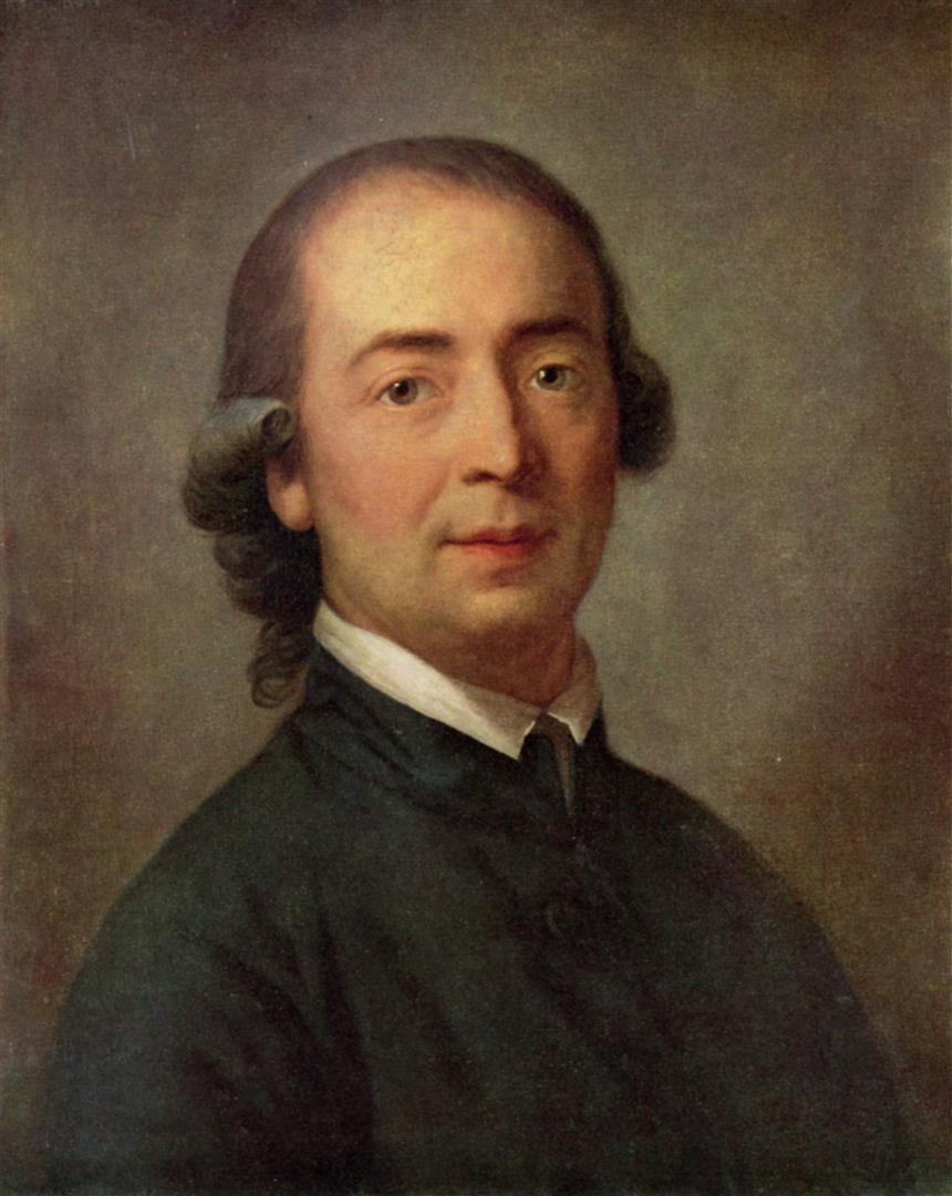 1744-1803 Freimaurer Johann Gottfried Herder. Dichter. Freimaurerloge 'Zum Schwert'. Wurde 1783 in den Illuminatenorden aufgenommen