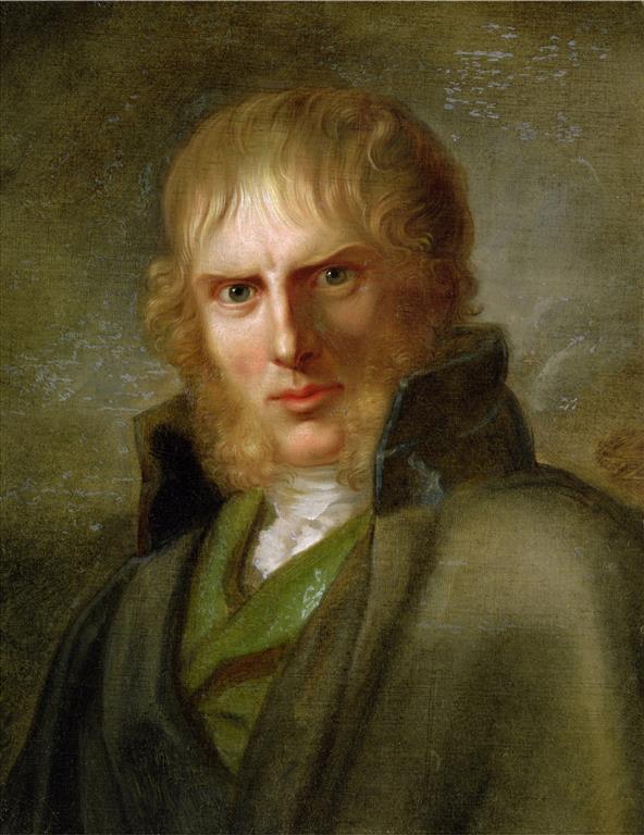 1774-1840 Freimaurer Caspar David Friedrich. Deutscher Maler.