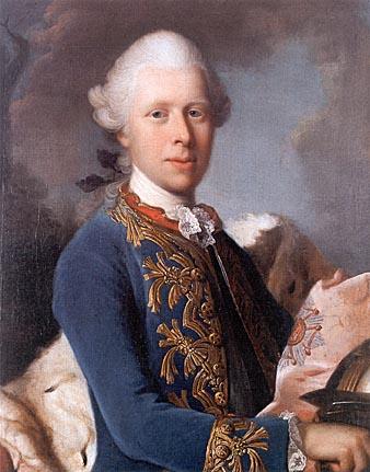 """1775-1804 Freimaurer Herzog Ernst II. Ludwig von Sachsen-Gotha-Altenburg. Er war in den Logen 1787 """"Royal Society"""", 1774 Gotha """"Zum Rautenkranz"""", 1791 """"Ritter des Hosenbandorden"""" und Mitglied im """"Illuminatenorden""""."""