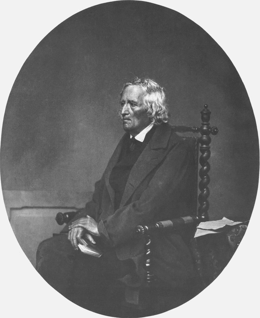 1785-1863 Freimaurer Jacob Grimm. Einer der Gebrüder Grimm