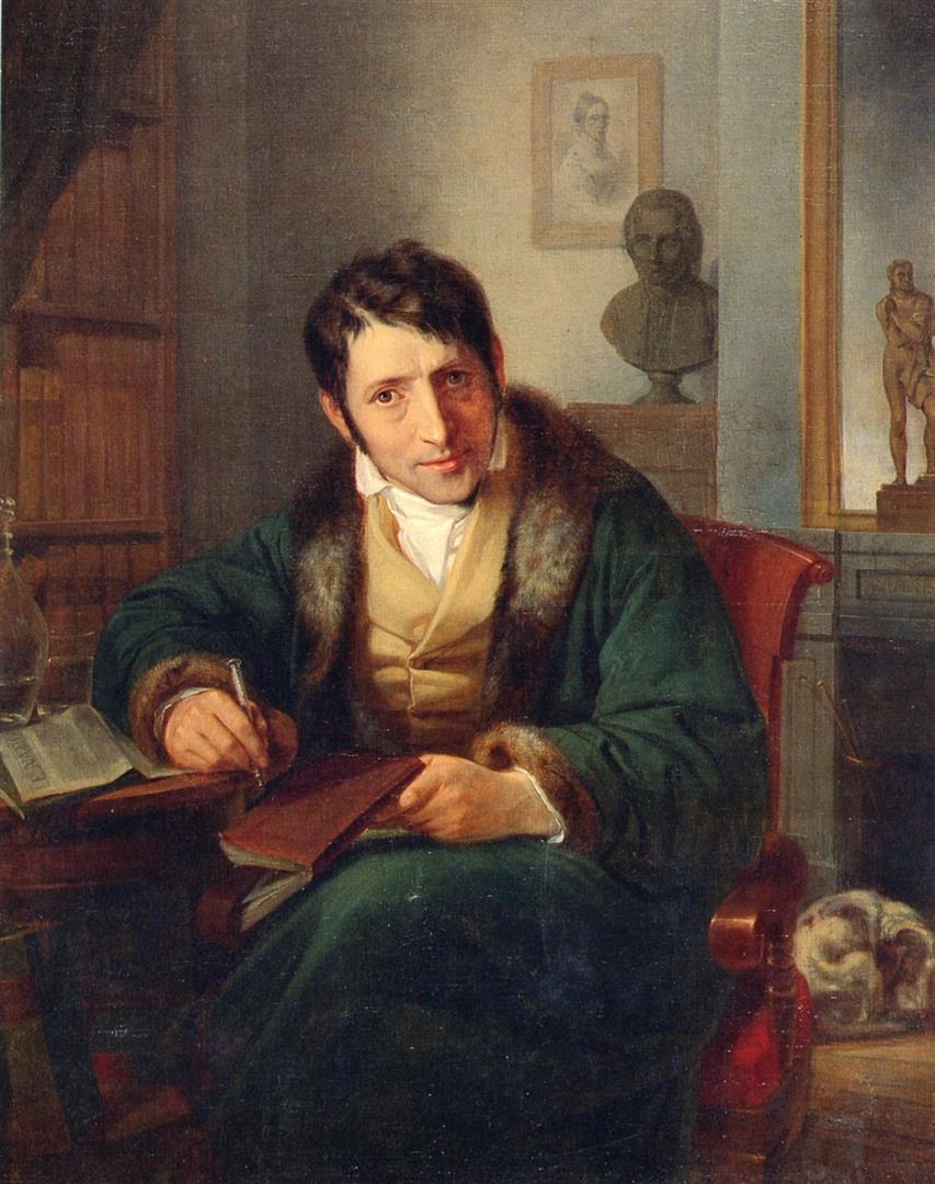 """1786-1837 Freimaurer und Jude Juda Löb Baruch (Tarnname Carl Ludwig Börne). Journalist. Frankfurter Freimaurerloge """"Zur aufgehenden Morgenröthe"""". Mitglied im Deutschen Preß- und Vaterlandsverein."""