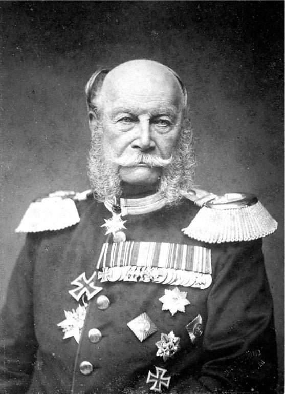 1797-1888 Freimaurer Wilhelm Friedrich Ludwig von Preußen (Wilhelm I.). König von Preußen und deutscher Kaiser. Ernannte 1862 Bismarck zum Ministerpräsident.