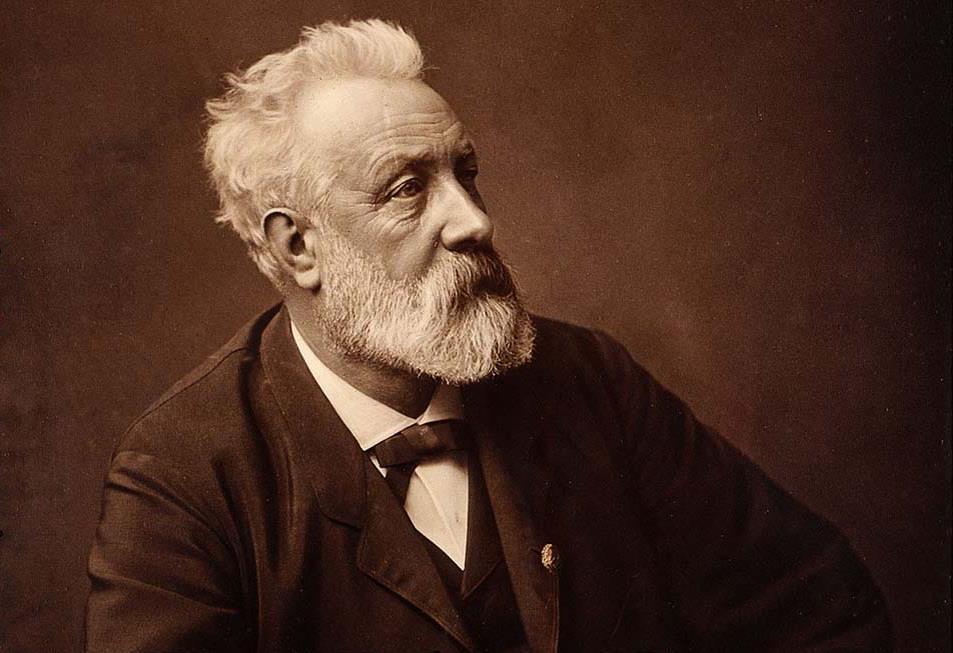 1828-1905 Freimaurer Jules Verne. Science-fiction-Schriftsteller. 20.000 Meilen unter dem Meer. Konnte durch Geheimwissen viele technische Errungenschaften vorhersagen.