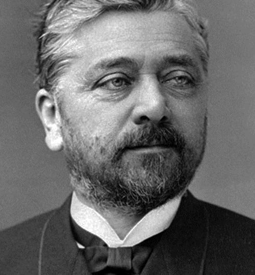 1832-1923 Freimaurer Alexandre Gustave Eiffel. Architekt. Freimaurerloge in Paris Grand Orient de France. Heimste ungerechtfertigterweise die Lorbeeren für den Eiffelturm ein.