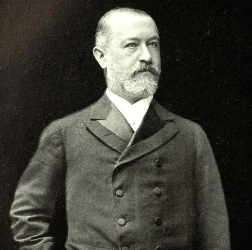 1847-1920 Jude Jakob Heinrich Schiff. Einer der einflussreichsten Bankiers seiner Zeit. Wuchs in Frankfurt auf und ging erst nach London und dann nach New York.